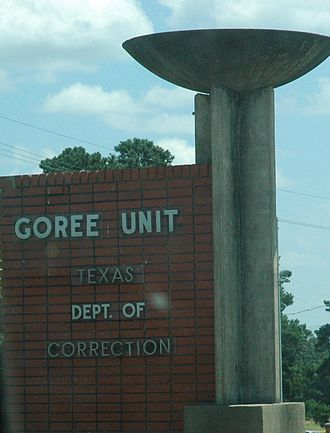 Thomas Goree Unit - Image: Goree Unit Huntsville TX