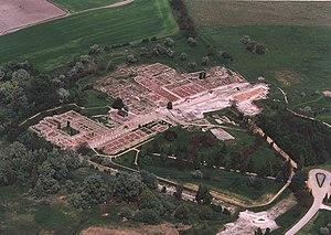 Aerial photography: Gorsium - Tác - Hungary