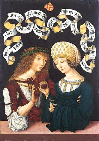 Love - Pair of Lovers. 1480–1485
