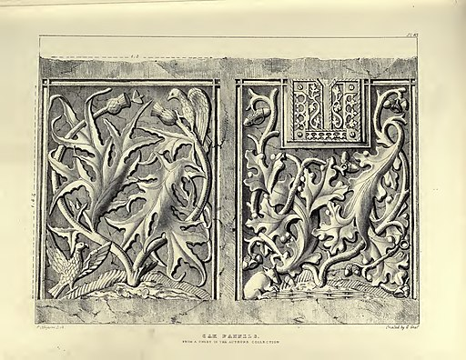 Gothic Ornaments, selected fom various ancient buildings, both in England and Franc, during the years 1828, 1829, and 1839 - Agustus Pugin 35