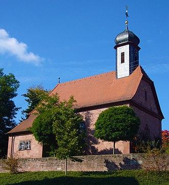 Walldürn - Gottersdorf St. Michael church