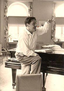Gottfried Wolters as singing teacher (Source: Wikimedia)