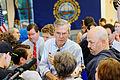 Governor of Florida Jeb Bush at TurboCam, Barrington, NH 1 on August 36th by Michael Vadon.jpg