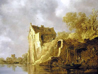 Goyen 1634 River landscape with a ruin.jpg