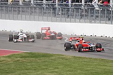Photo de monoplaces Virgin et Sauber au Grand Prix du Canada 2011