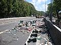 Grève générale des Antilles françaises de 2009 - RN4 Gosier.jpg