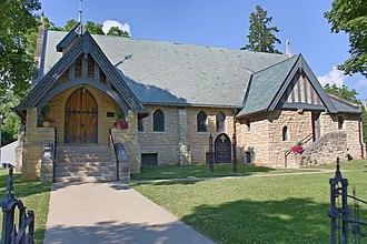 Wabasha, Minnesota - Grace Memorial Episcopal Church, Wabasha, Minnesota