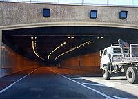 The Northbridge Tunnel on the Graham Farmer Freeway