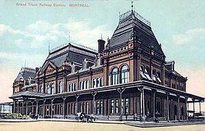 Bonaventure Station (1887–1952) - Grand Trunk Railway Station