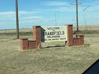 Grandfield, Oklahoma City in Oklahoma, United States