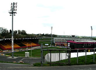 Odsal Stadium - The East Stand seen from the Rooley Avenue End
