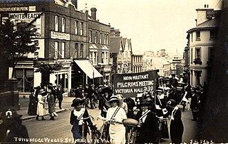 Amelia Scott - Great Pilgrimage, procession through Royal Tunbridge Wells