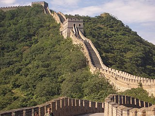 Kinesiska muren haller pa att rasa