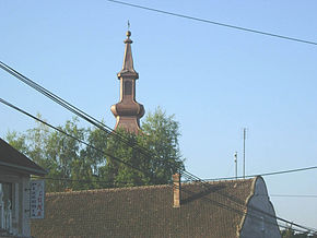 Grebenac, Romanian Orthodox church.jpg