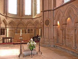 Robert Grosseteste - Grosseteste's Tomb and Chapel in Lincoln Cathedral