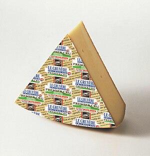 Gruyère cheese - Le Gruyère Premier Cru