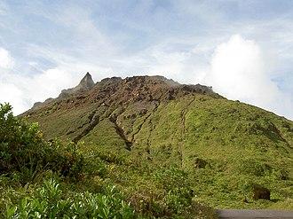 La Grande Soufrière - Image: Guadeloupe 114 Sommet de la Soufrière 1467m Guadeloupe