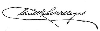 Guillermo Tell Villegas - Image: Guillermo Tell Villegas signature 1