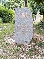 Gulag memorial stone (2017), 2020 Nagykovácsi.jpg