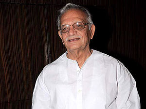 Gulzar - Gulzar at the launch of Jagjit singh's album Tera Bayaan Ghalib