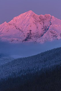 Gunsight Mountain (Montana) mountain in United States of America