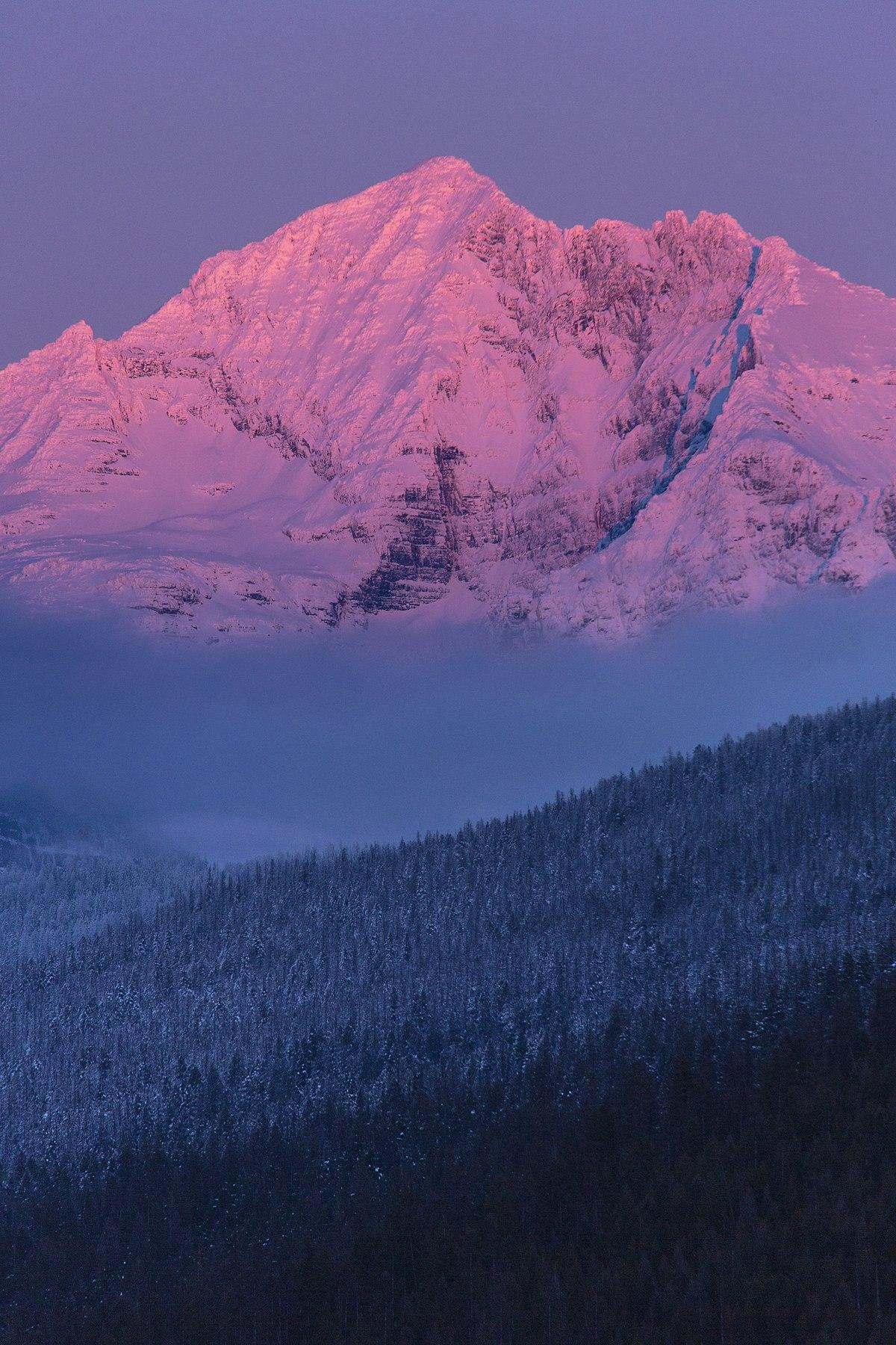 Gunsight Mountain (Montana) - Wikipedia