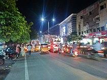 Guntur City Taluka Center Night.JPG