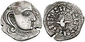 Skandagupta - Image: Gupta Kings. Skandagupta. AD 455 467