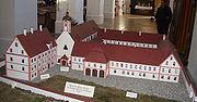 Gutenzell Kloster Modell