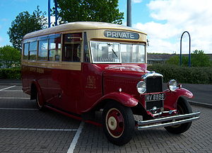Bus preservation in the United Kingdom - 1931 preserved bus