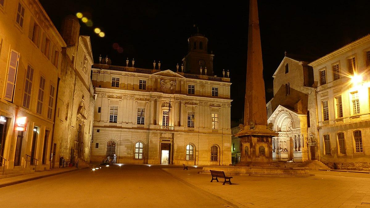 H tel de ville d 39 arles wikip dia - Hotel porte de camargue arles provence ...