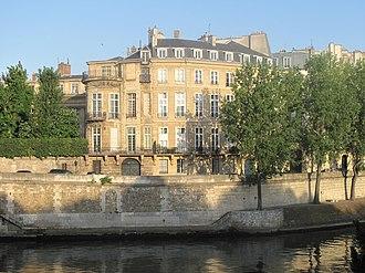 Poles in France - Hôtel Lambert was a center of Polish exiles associated with Prince Adam Jerzy Czartoryski.
