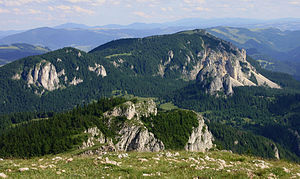 Cheile Bicazului-Hășmaș National Park - Image: Hășmaș Mountains