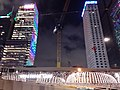 HK 晚上 night 香港電車 Hong Kong Tramways 遊車河 tour 中環 Central Admiralty 金鐘道 Queensway January 2021 SS2 02.jpg