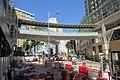 HK 觀塘 Kwun Tong 協和街 Hip Wo Street footbridge to 觀月 樺峯 Park Metropolitan October 2018 IX2.jpg