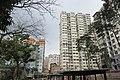 HK 觀塘 Kwun Tong 月華街 Yuet Wah Street Playground view residential building facades December 2018 IX2.jpg