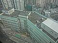 HK CSW 明愛醫院 Caritas Medical Centre Wai Shun Block view Wai Tak Block roof Nov-2013.JPG
