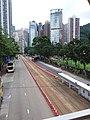 HK CWB 銅鑼灣 Causeway Bay 高士威道 Causeway Road footbridge view Sunday June 2019 SSG 01.jpg