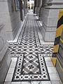 HK Causeway Bay 基督君皇小聖堂 Christ The King Chapel cloister flooring tiles.JPG