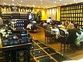 HK Central IFC mall shop 杜樂麗法國茶館 TWG TEA restaurant interior Jan-2012.jpg