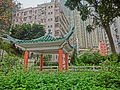 HK Shek Tong Tsui 山道花園 Hill Road Rest Garden Pavilion view The Belcher's n Hillview Garden April 2013.JPG