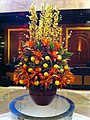 HK TST East 海景嘉福酒店 InterContinental Grand Stanford hotel hall lobby flowers Feb-2013.JPG