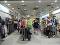 HK TST night 嘉連威老道 Granville Road In-Fashion clothing shop interior.JPG