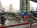 HK Tsuen Wan 西樓角路 100 Sai Lau Kok Road 昌樂大廈 Cheong Lok Mansion May-2013 荃灣行人天橋網絡 footbridge 02.JPG