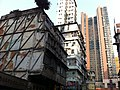 HK Yau Ma Tei 油麻地 Temple Street 廟街 view Man Ming Lane No 8 Waterloo Road Towers morning am Jan-2014.JPG