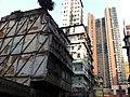 HK Yau Ma Tei 油麻地 Temple Street 廟街 view Man Ming Lane No 8 Waterloo Road Towers morning am Jan-2014.JPG