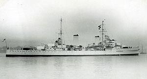 HMAS Sydney (D48) - Sydney, circa 1935