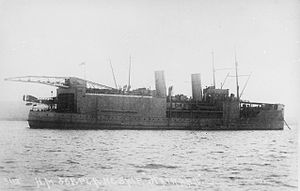 HMS Nairana (1917) - HMS Nairana in 1918