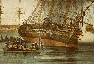 HMS Sirius (1797) - Image: HMS Sirius