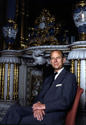 Greeks in the United Kingdom - Prince Philip, Duke of Edinburgh